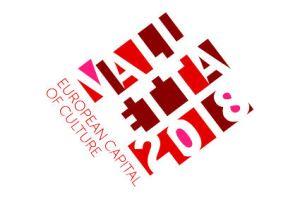 officiel Valletta 2018 logo EN CMYK